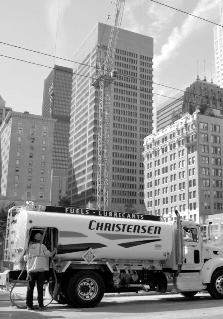 Truck At City