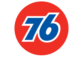 76 Oil and Gas Logo Icon