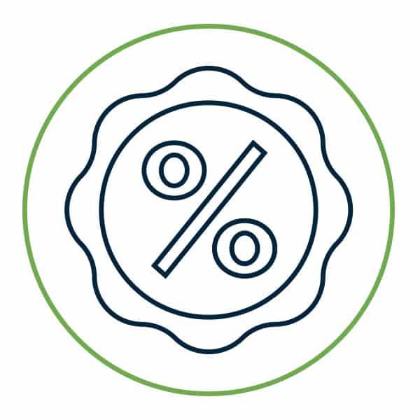 Percentage-Badge